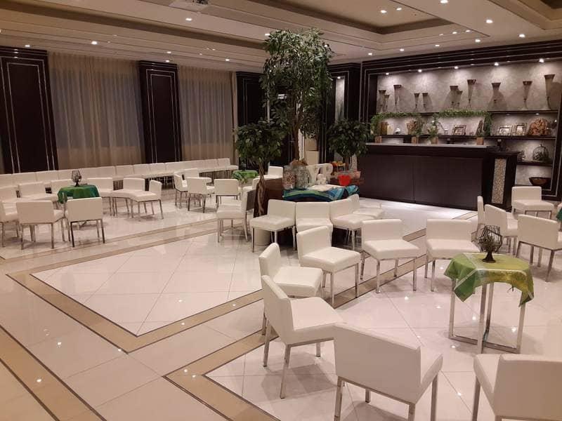 アルマリアン福岡の7階・待ち合わせスペース