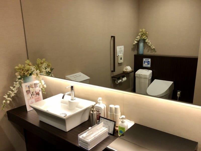ラグナスイート名古屋 トイレ