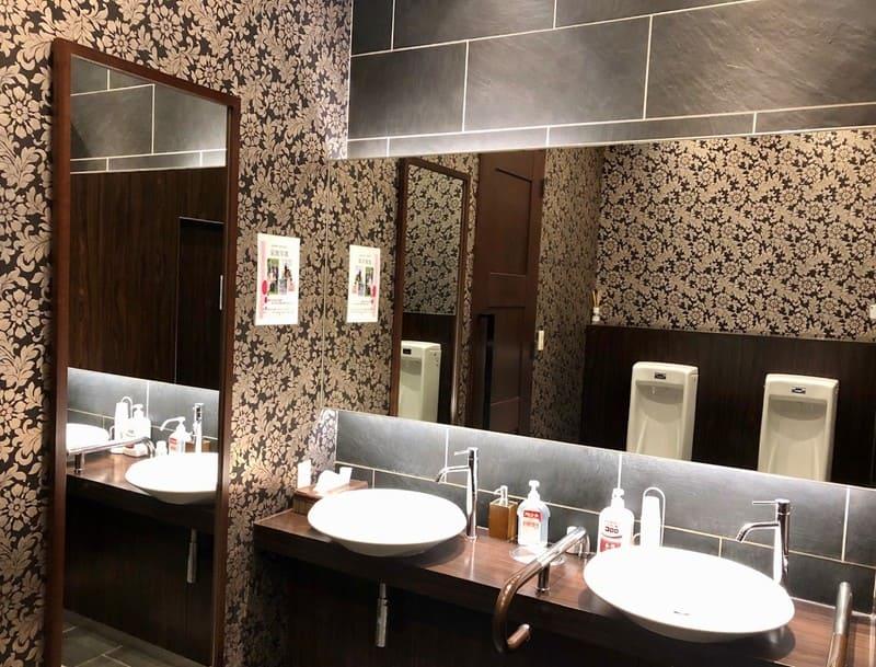 ア・ラ・モードパレ&ザ・リゾート トイレ