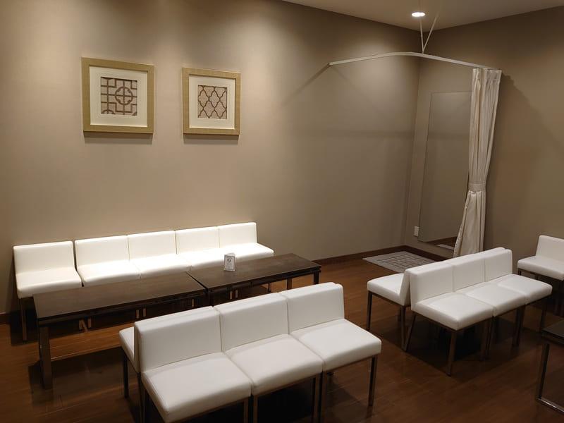 アルマリアン東京 控室