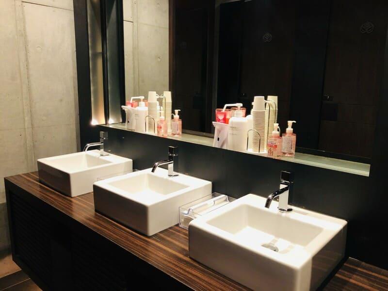 パラッツォ ドゥカーレ麻布 化粧室
