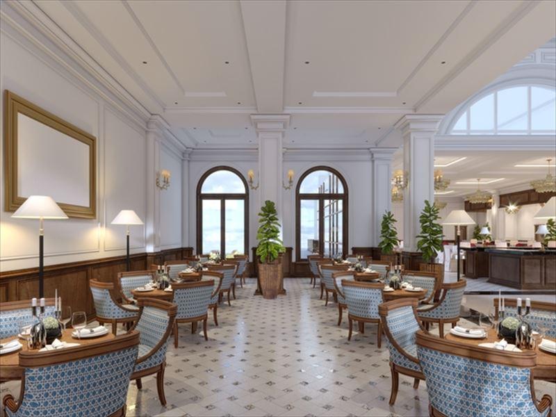 高級レストランの内部